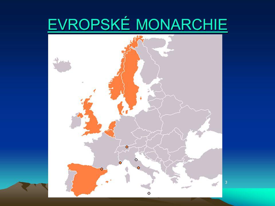 EVROPSKÉ MONARCHIE 3
