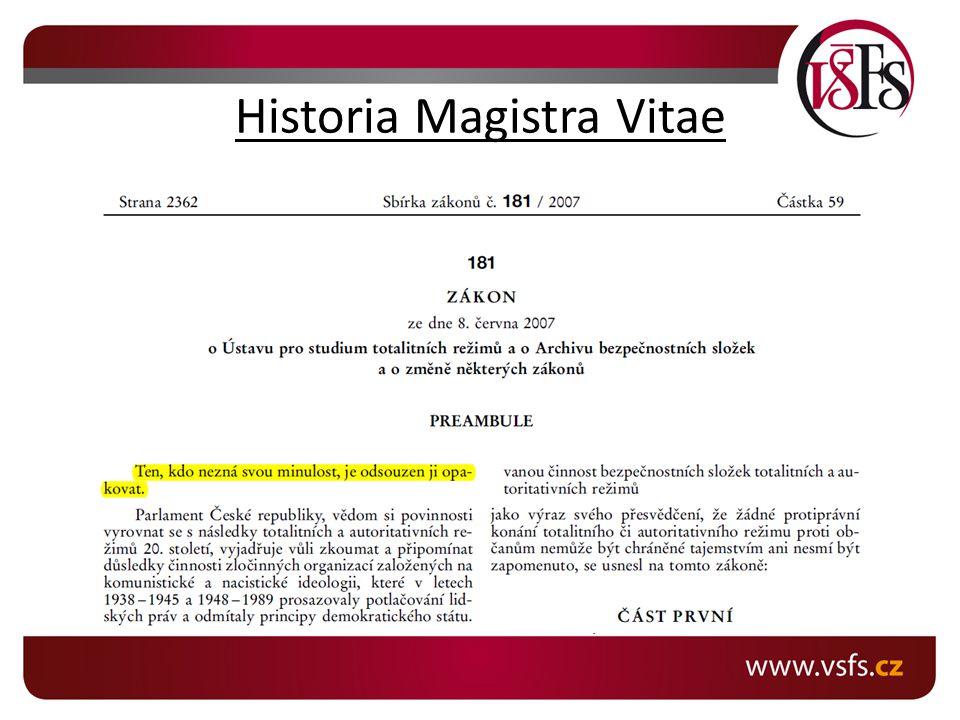 Historia Magistra Vitae