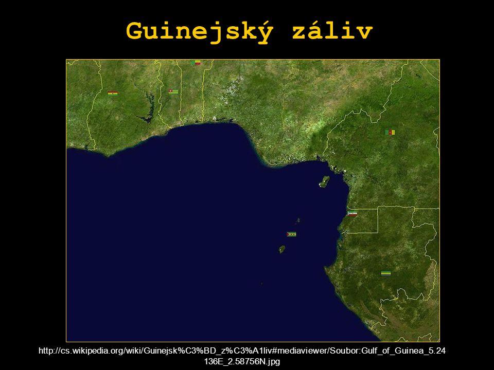 Guinejský záliv http://cs.wikipedia.org/wiki/Guinejsk%C3%BD_z%C3%A1liv#mediaviewer/Soubor:Gulf_of_Guinea_5.24136E_2.58756N.jpg.