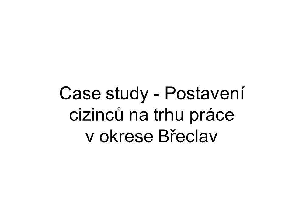 Case study - Postavení cizinců na trhu práce v okrese Břeclav