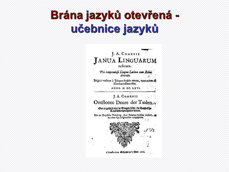 Brána jazyků otevřená - učebnice jazyků