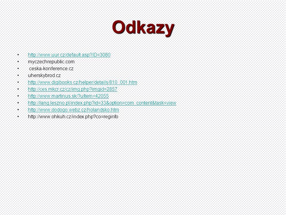 Odkazy http://www.uur.cz/default.asp ID=3080 myczechrepublic.com