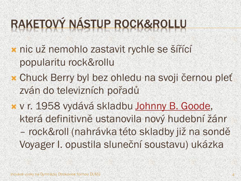 raketový nástup rock&rollu