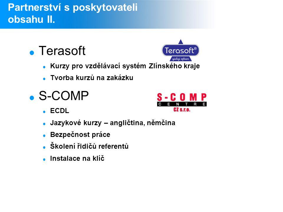 Partnerství s poskytovateli obsahu II.