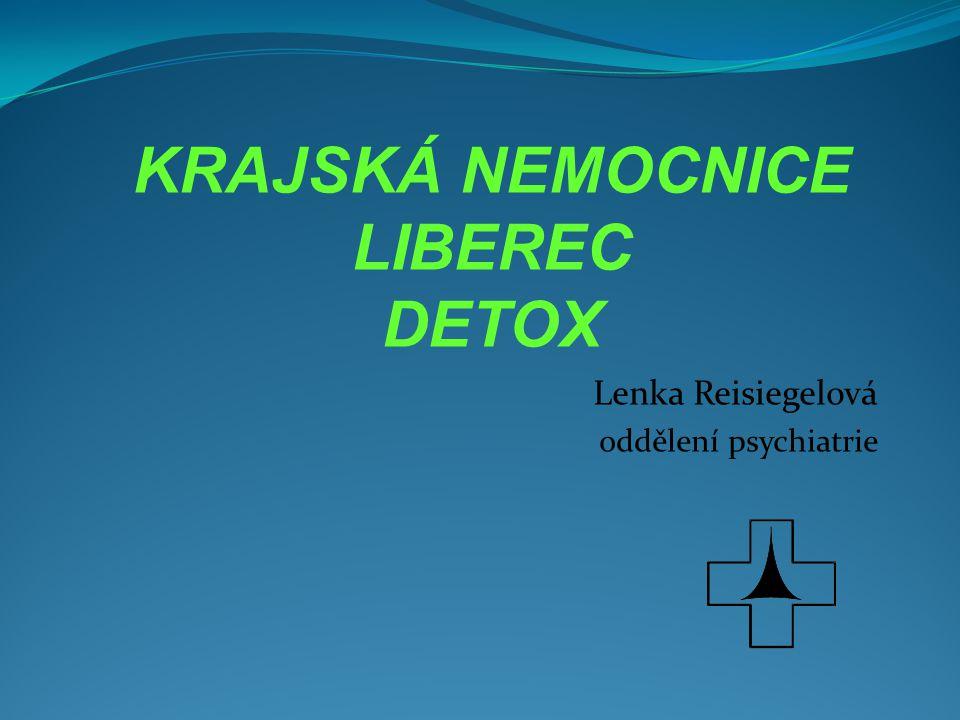 Lenka Reisiegelová oddělení psychiatrie
