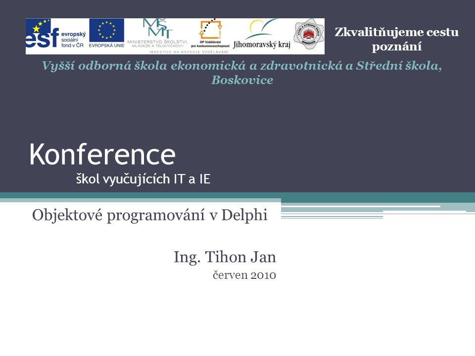 Konference škol vyučujících IT a IE