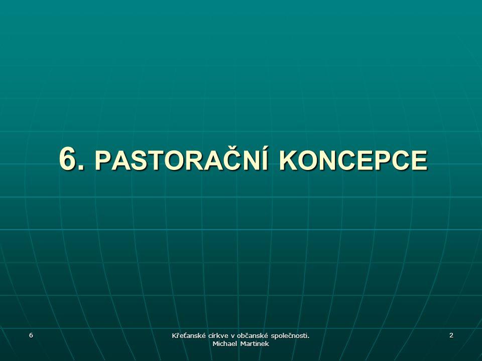 Křeťanské církve v občanské společnosti. Michael Martinek