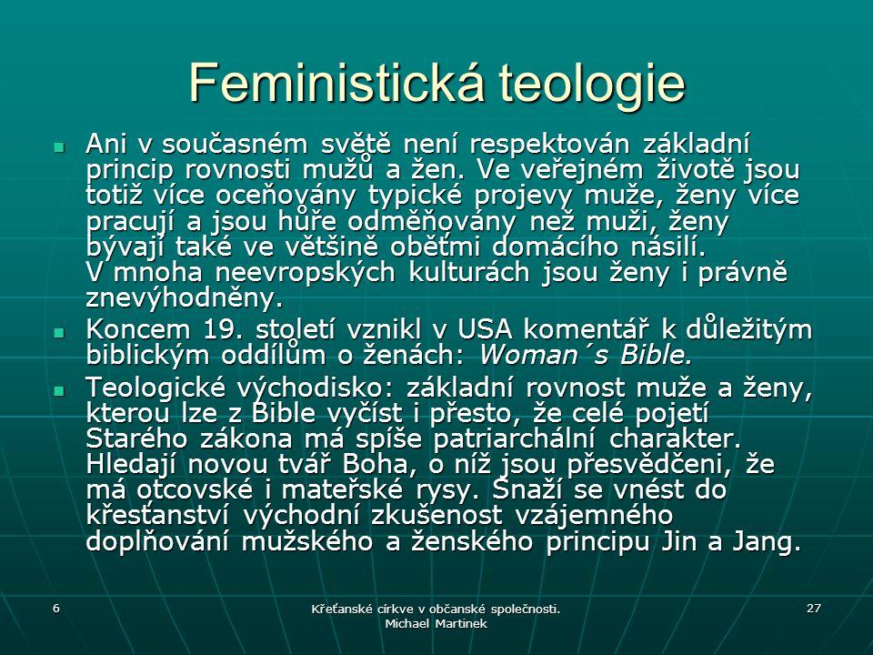 Feministická teologie