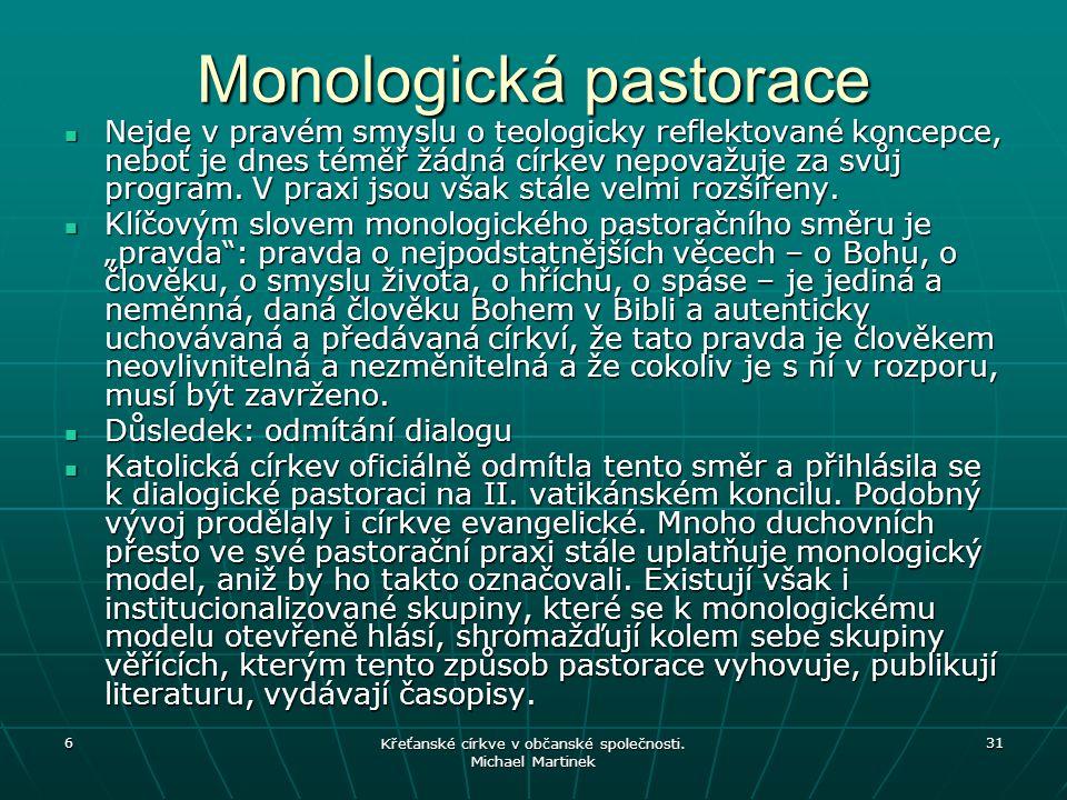 Monologická pastorace