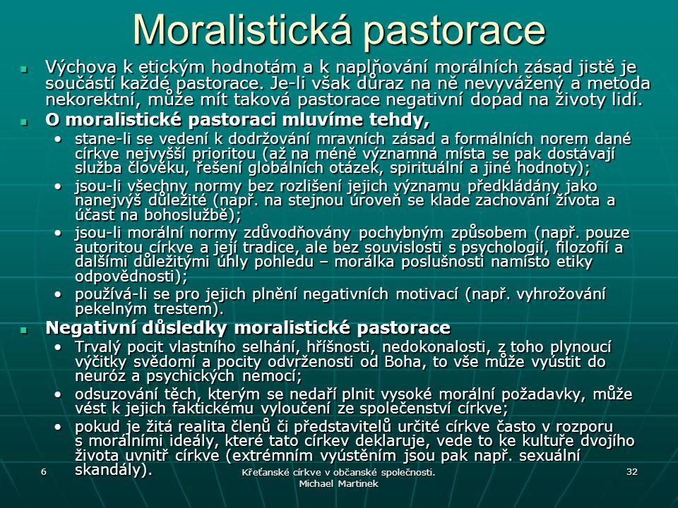 Moralistická pastorace