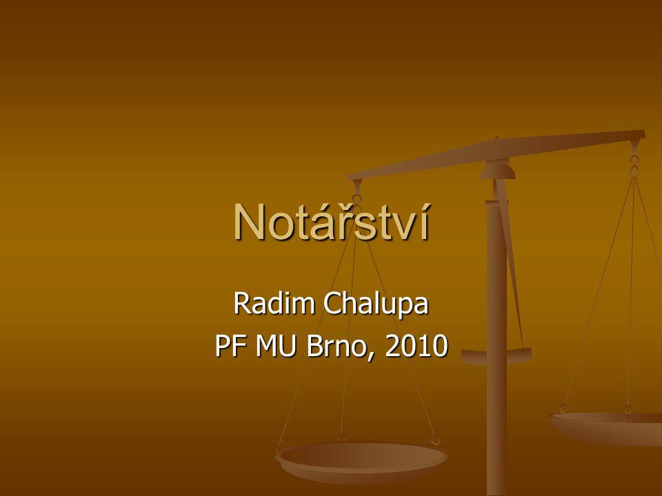 Radim Chalupa PF MU Brno, 2010