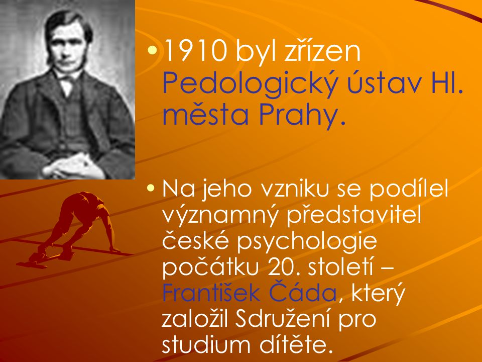 1910 byl zřízen Pedologický ústav Hl. města Prahy.