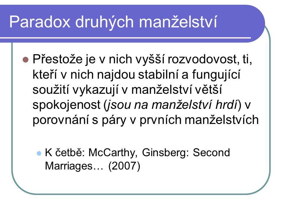 Paradox druhých manželství