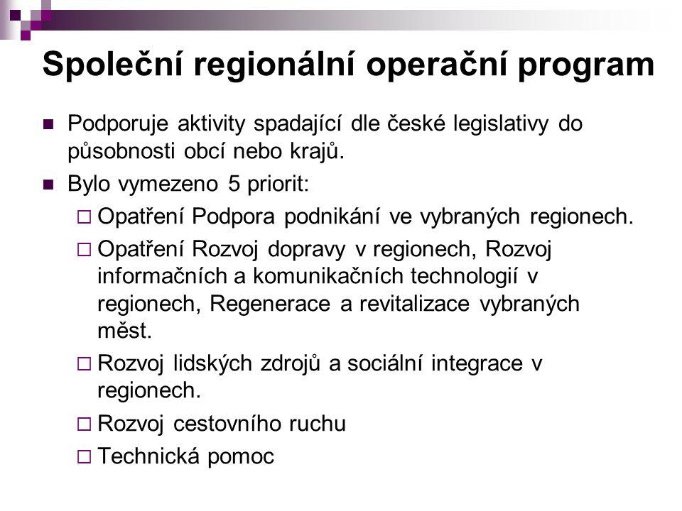 Společní regionální operační program