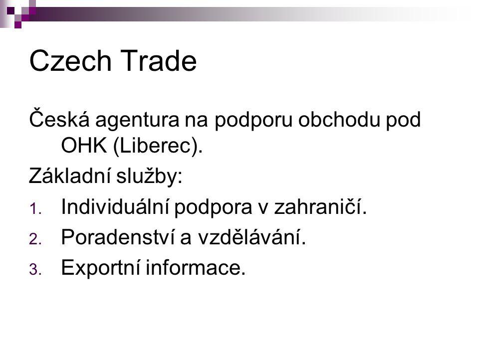 Czech Trade Česká agentura na podporu obchodu pod OHK (Liberec).