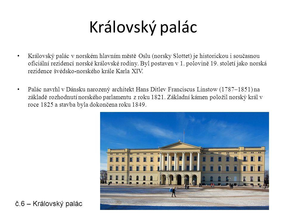 Královský palác č.6 – Královský palác