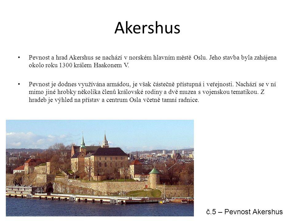 Akershus č.5 – Pevnost Akershus
