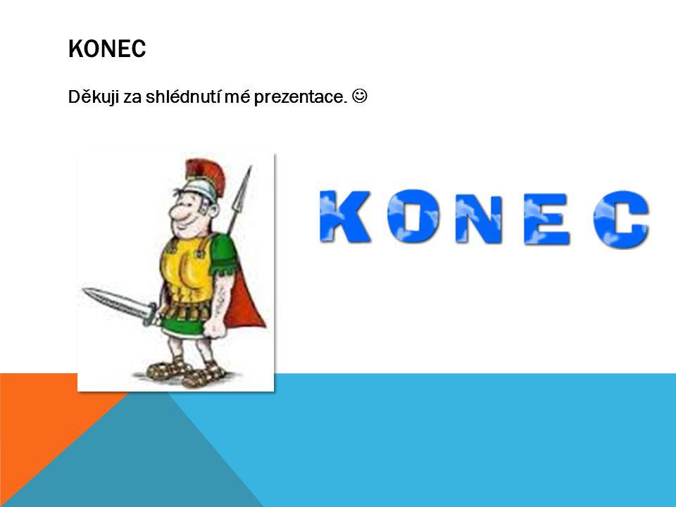 koNEC Děkuji za shlédnutí mé prezentace. 