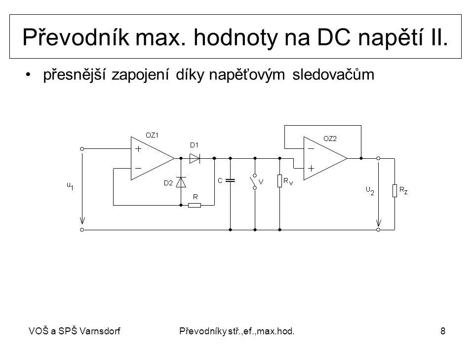 Převodník max. hodnoty na DC napětí II.