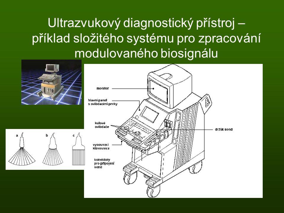 Ultrazvukový diagnostický přístroj – příklad složitého systému pro zpracování modulovaného biosignálu