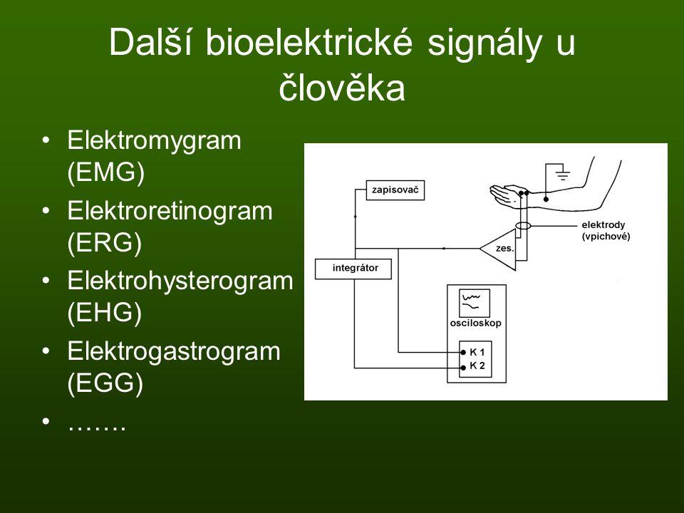 Další bioelektrické signály u člověka