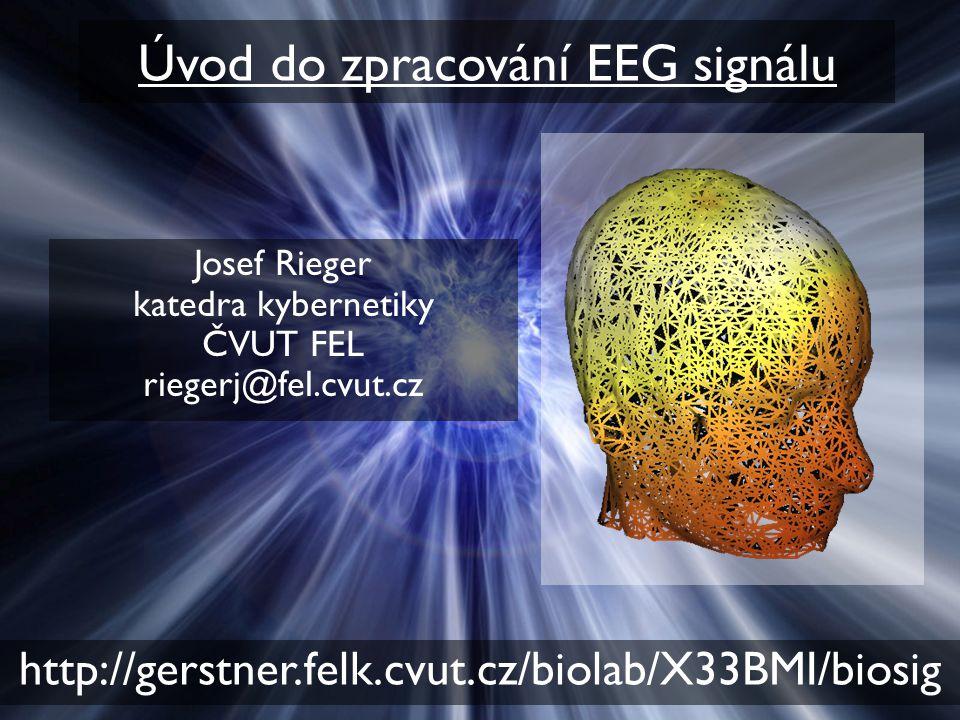 Úvod do zpracování EEG signálu