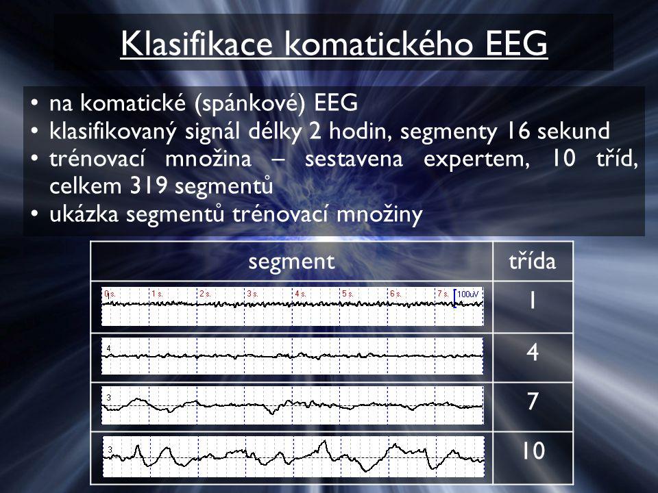 Klasifikace komatického EEG