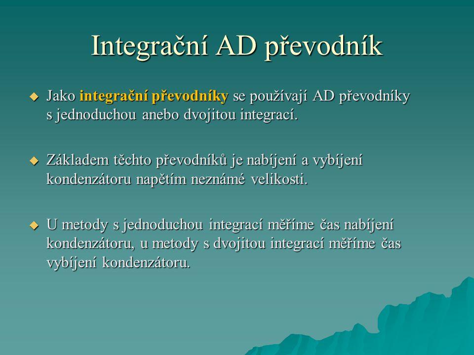 Integrační AD převodník