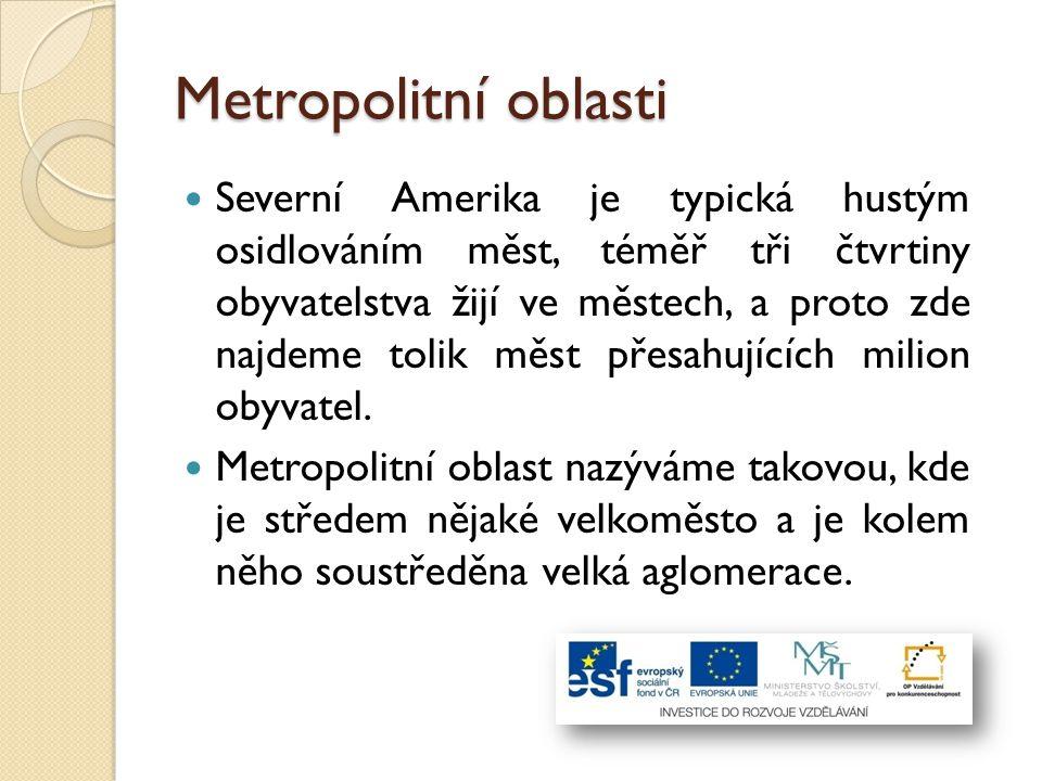 Metropolitní oblasti