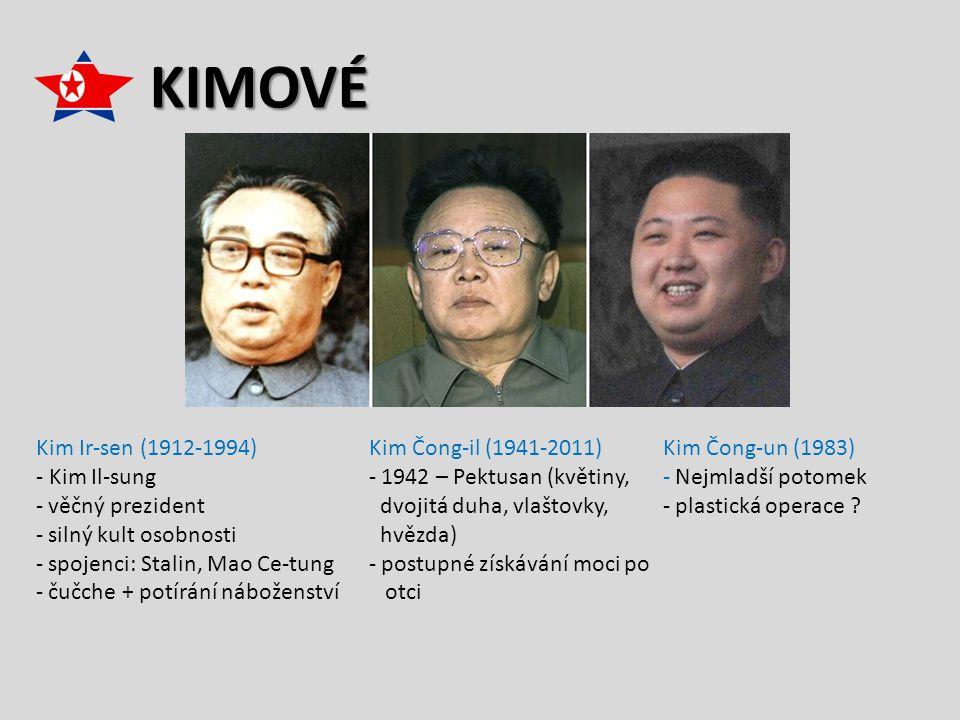 KIMOVÉ Kim Ir-sen (1912-1994) - Kim Il-sung věčný prezident