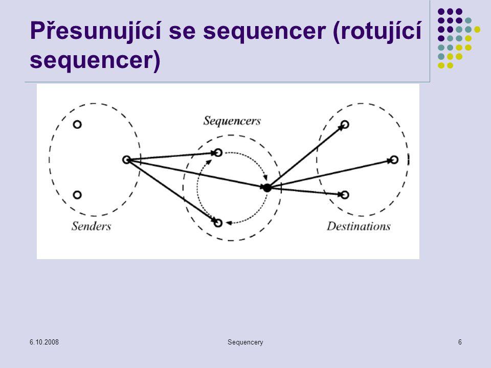 Přesunující se sequencer (rotující sequencer)