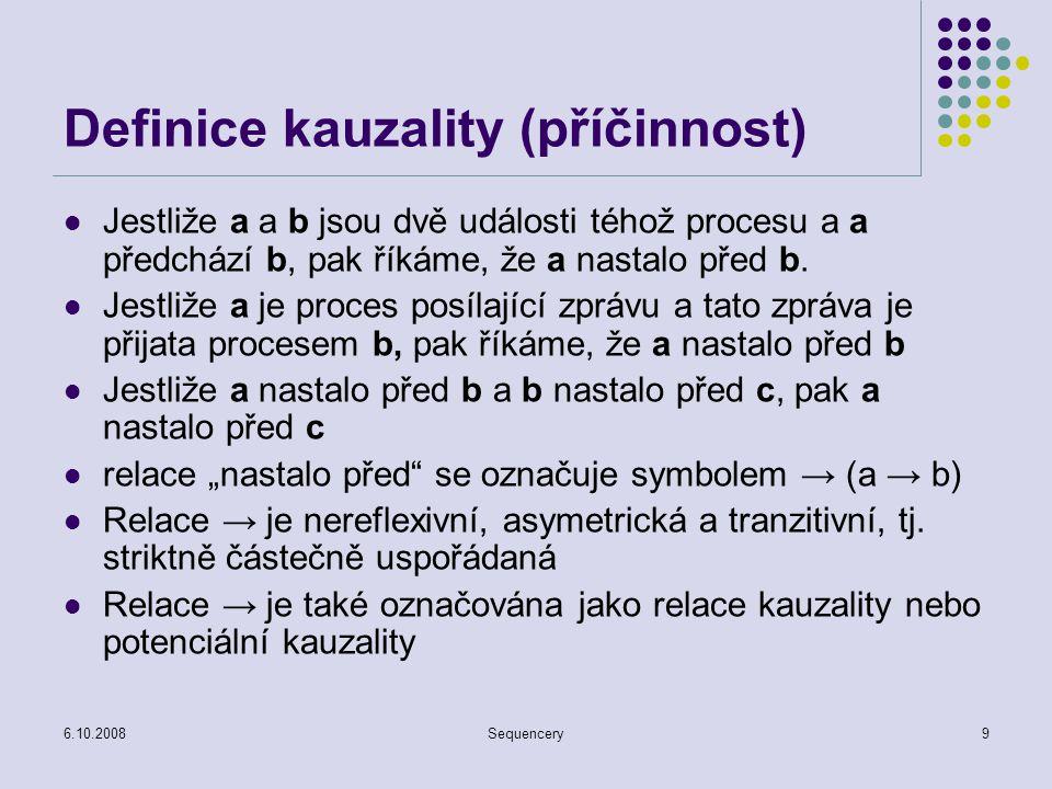 Definice kauzality (příčinnost)