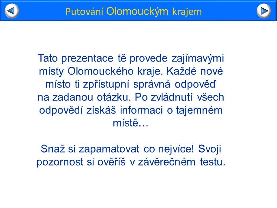Putování Olomouckým krajem