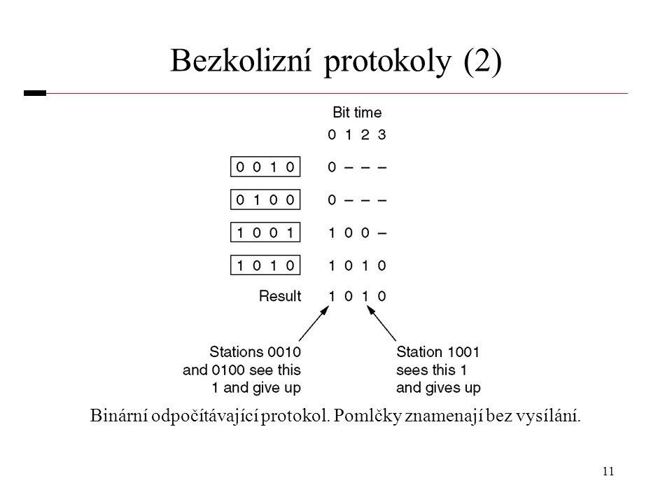 Bezkolizní protokoly (2)