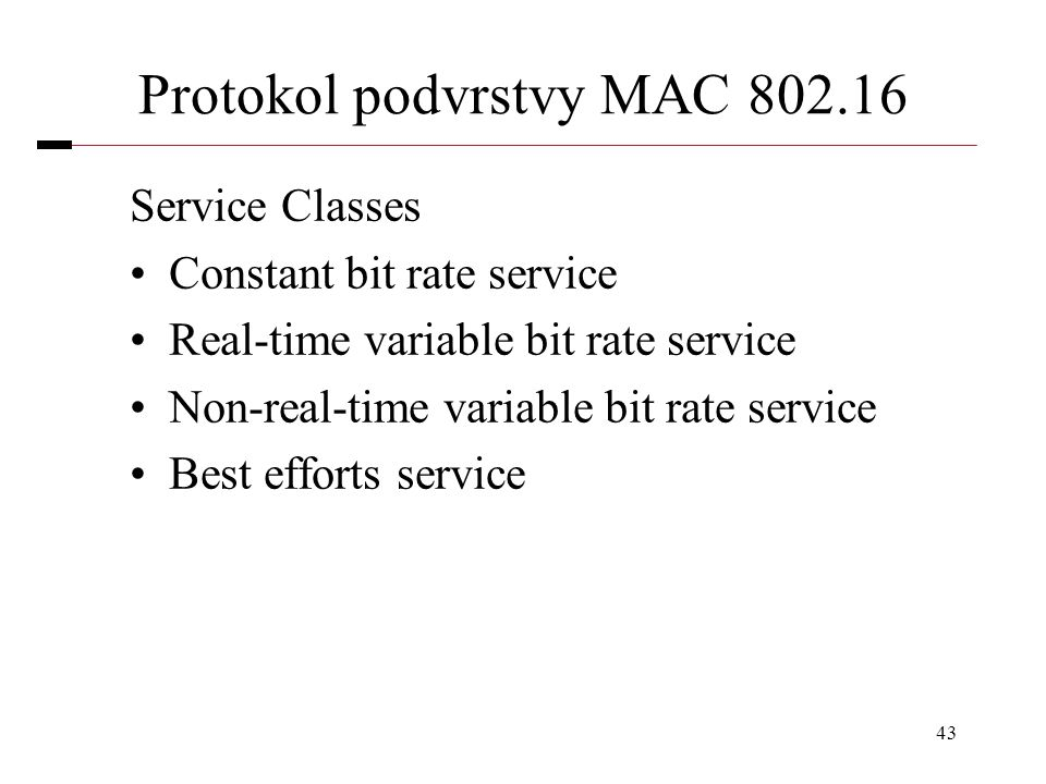 Protokol podvrstvy MAC 802.16