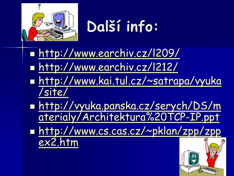 Další info: http://www.earchiv.cz/l209/ http://www.earchiv.cz/l212/