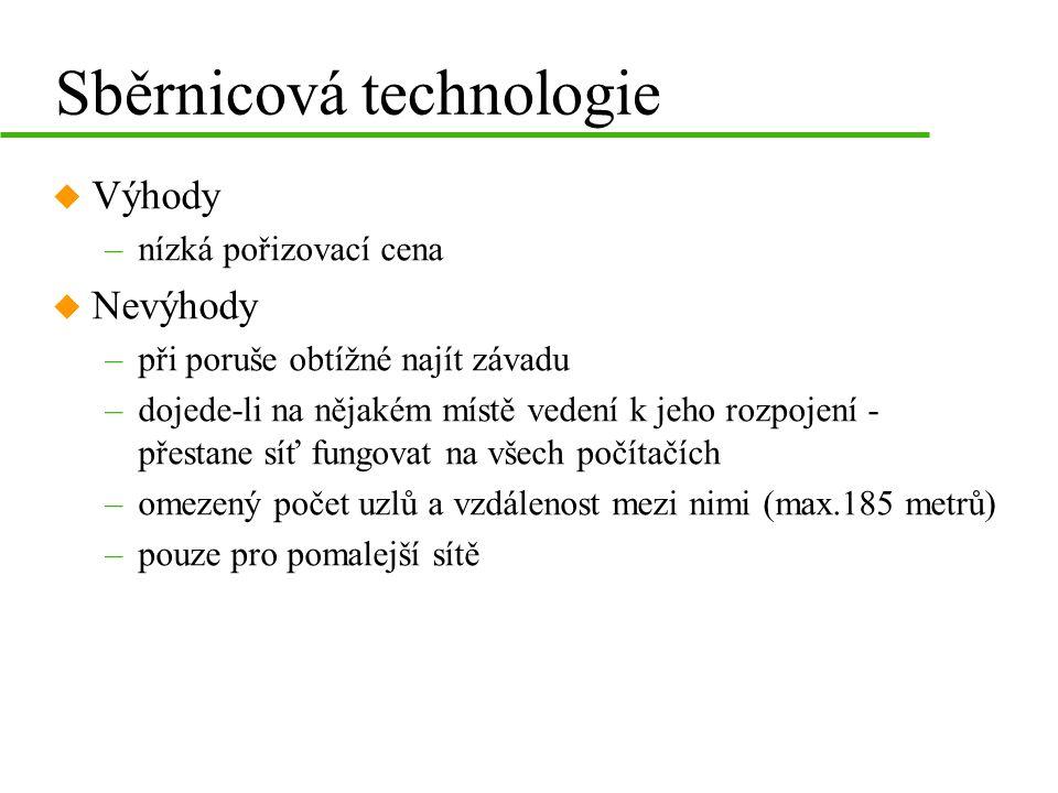 Sběrnicová technologie