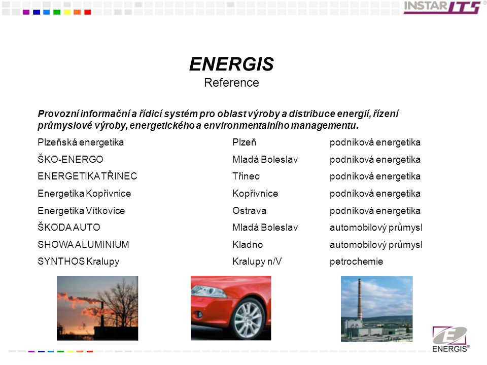 ENERGIS Reference