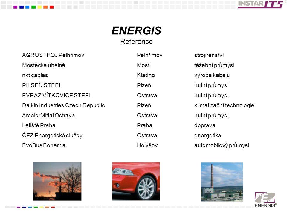 ENERGIS Reference AGROSTROJ Pelhřimov Pelhřimov strojírenství
