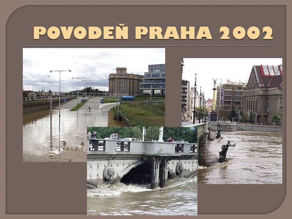 POVODEŇ PRAHA 2002