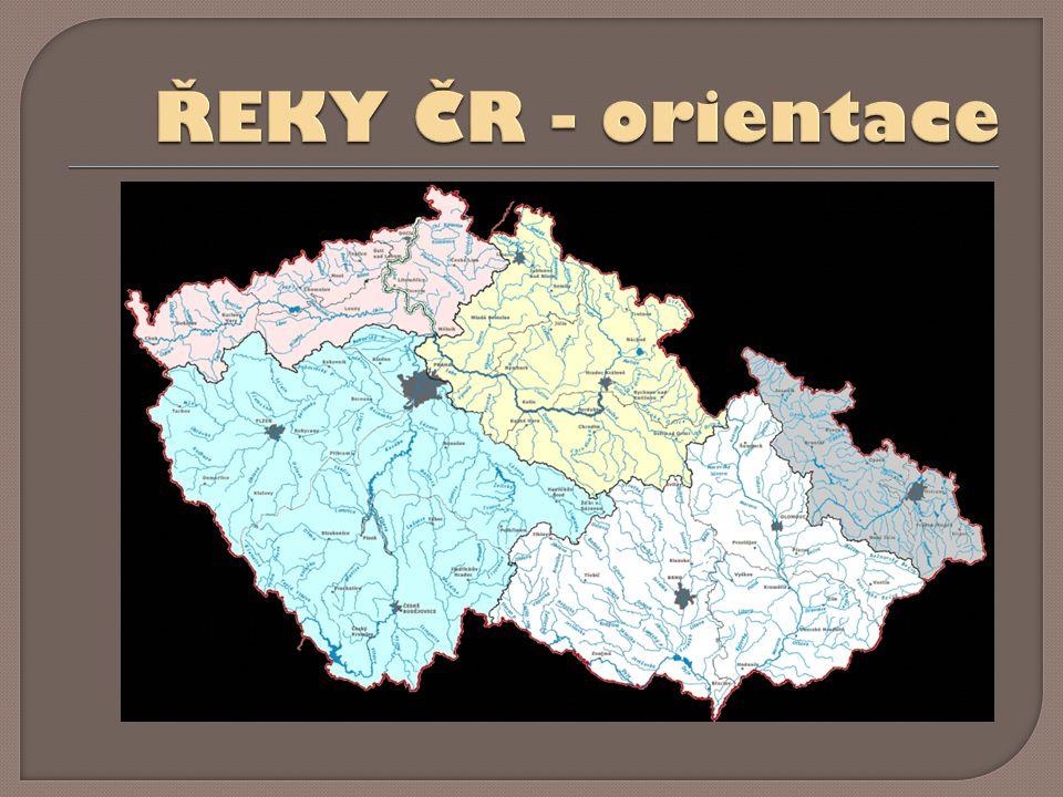 ŘEKY ČR - orientace