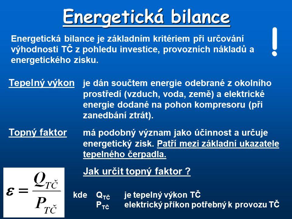 Energetická bilance !