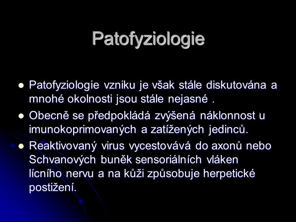 Patofyziologie Patofyziologie vzniku je však stále diskutována a mnohé okolnosti jsou stále nejasné .