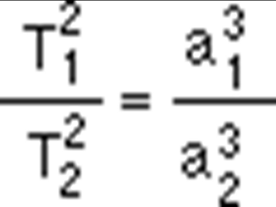 Třetí keplerův zákon