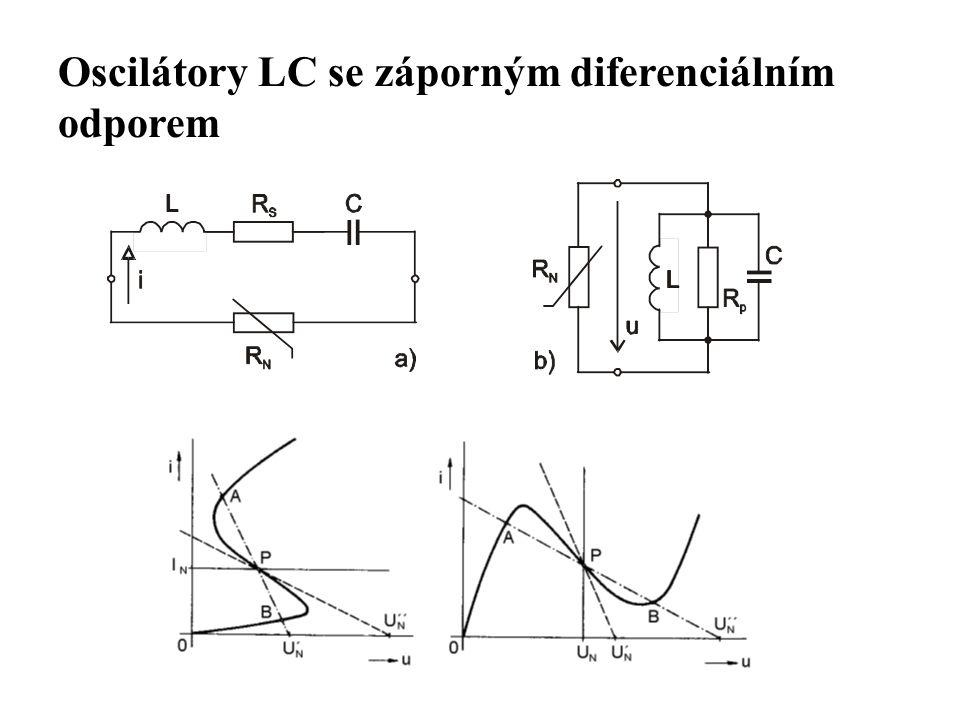 Oscilátory LC se záporným diferenciálním