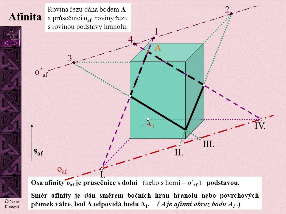 Afinita 2 1 4 A 3 o´af IV. III. saf II. oaf I. A1