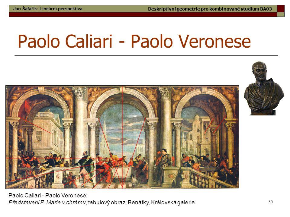 Paolo Caliari - Paolo Veronese
