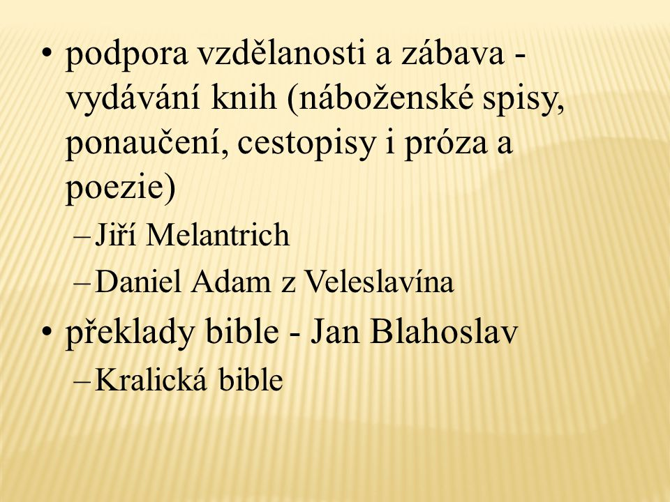 překlady bible - Jan Blahoslav