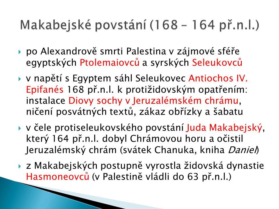Makabejské povstání (168 – 164 př.n.l.)