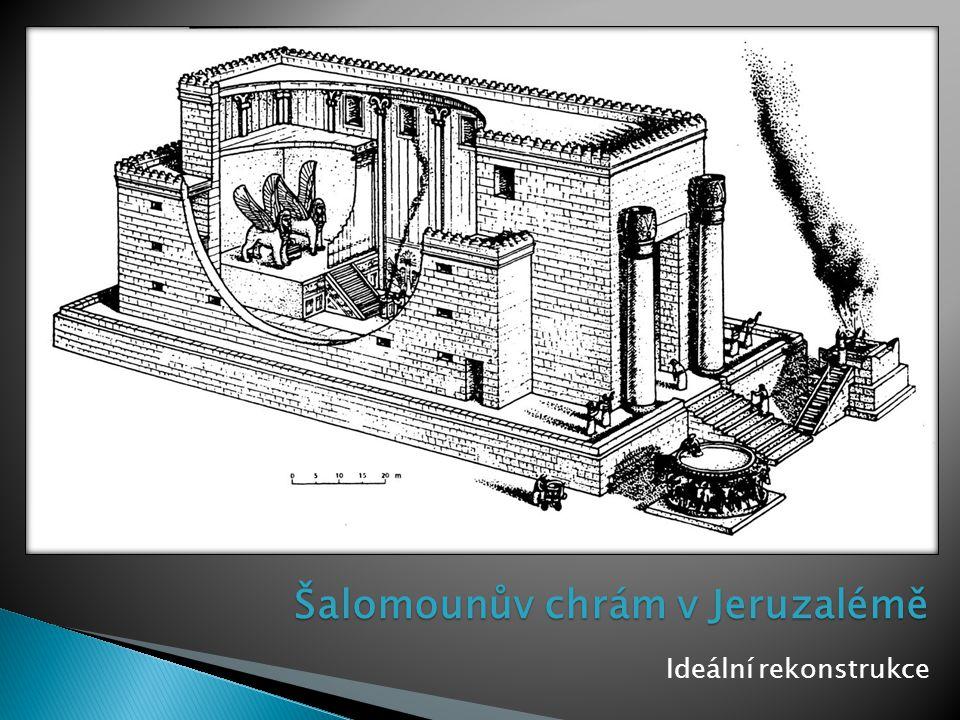 Šalomounův chrám v Jeruzalémě